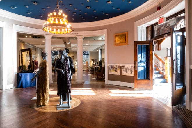 Historic dresses are on display in one of the galleries at Port Huron Museum's Carnegie Center as part of its Threads exhibit. The museum is currently working with the city on a children's exhibit.