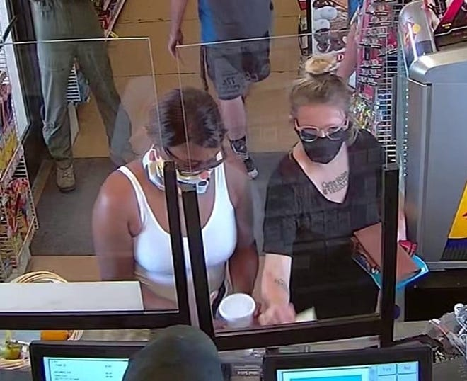 Crime Stoppers of Wichita Falls is looking for information on suspects who stole and fraudulently used a female victim's credit cards at Market Street United.