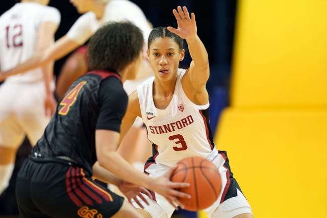 Stanford Cardinal guard Anna Wilson, the Pac-12 co-defensive player of the year, has found pride and joy in becoming a lockdown defender.