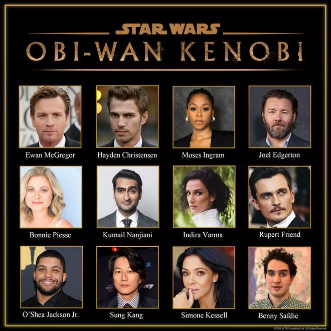 """The cast of """"Obi-Wan Kenobi."""""""