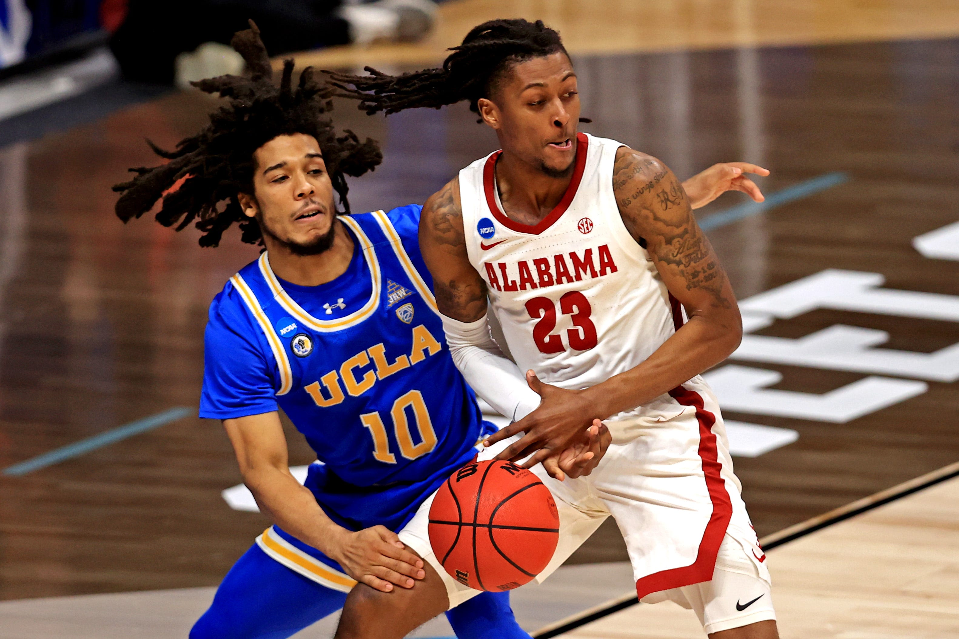 No. 11 UCLA continues improbable NCAA Tournament run with overtime win vs. No. 2 Alabama in Sweet 16