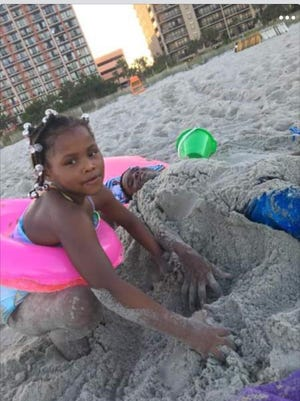 Roniah Boswell Bartee, 8, died in a fire in Akron's Kenmore neighborhood on March 30, 2021.