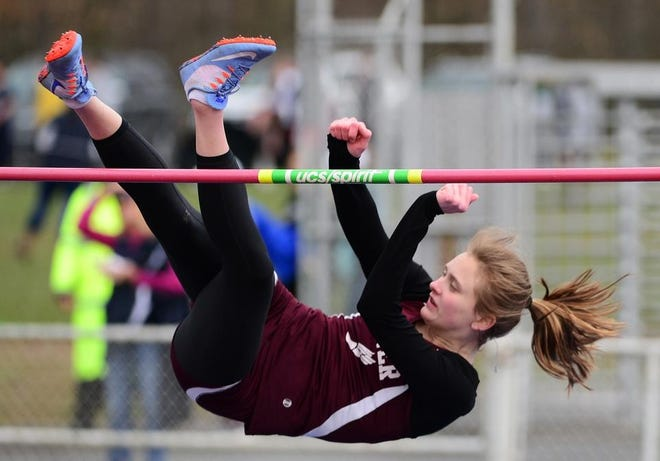 Beaver senior Emma Pavelek, fresh off winning a WPIAL basketball championship with the Bobcats, will be going for her third WPIAL gold medal in the high jump.