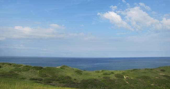 The Pamet Area Trail System in Truro offers huge views of the Atlantic Ocean.