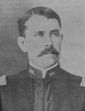 Col. Henry Stroup of the Arkansas National Guard.