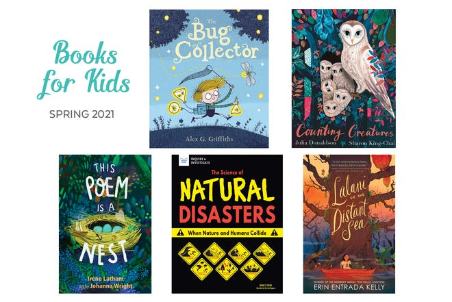 Recommended children's books from our Spring issue