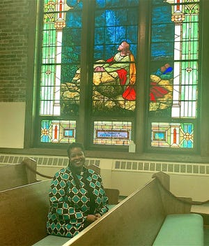 Pastor Catrina Hawkins-Boles of Christ's Lutheran Church in Cambridge is happy to see parishioners  returning to church as some sanctions put in place during the COVID-19 pandemic have been lifted.