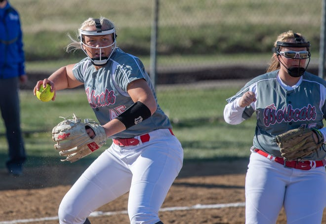 Norwayne's Kennedy Kay (left) and Reese King (right) will be two of the top players in the June 16 Wayne-Holmes Senior All-Star Softball Game.