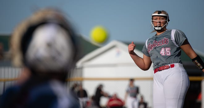 Norwayne's Kennedy Kay leads all area pitchers with 144 strikeouts and nine wins.