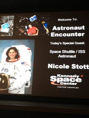 Astronaut Nicole Stott  - 051001aa 8753 4016 b731 88ba9cc37ca3 Nicole Stott - Former Ellwood City woman teaches students about space missions