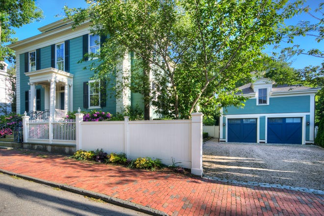 The home at 115 Pelham St. in Newport recently sold for $4.55 million.