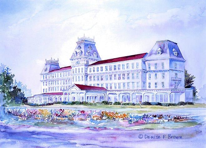 """""""Wentworth Hotel"""" by artist Denise Brown"""