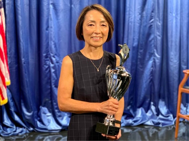 Toshimi Abe-Janiga is named Palm Beach County Teacher of the Year.