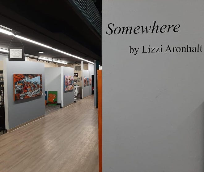 Lizzi Aronhalt will be the featured artist at Vital Arts at 324 Cleveland Ave. NW on April 2 during First Friday events in downtown Canton.