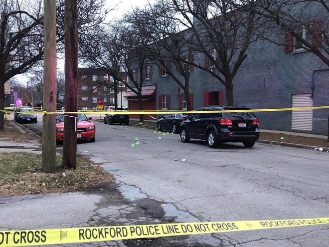 Three people were shot on Nov. 25, 2018, in the area of Eighth Street and Broadway. Chiyara Nelson, 25, and Shawnquez Edwards, 29, both of Rockford, died from their injuries. On Tuesday, Winnebago County State's Attorney J. Hanley dropped the charges against the man accused of their killing, citing conflicting evidence.