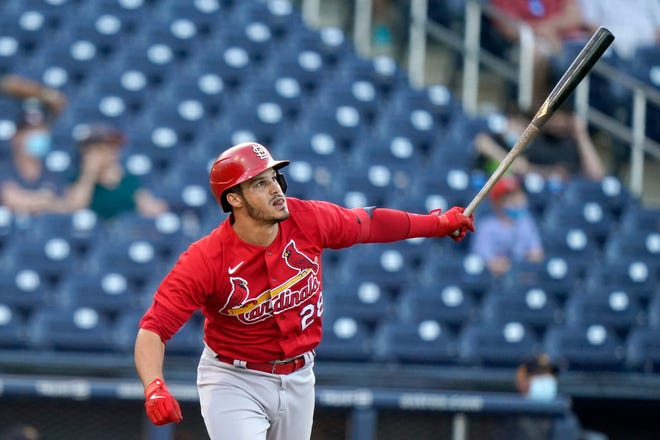 Nolan Arenado was ready to end spring training and begin his first regular season with the Cardinals.