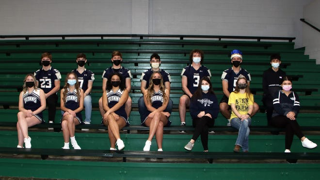 Wethersfield High School will be celebrating Homecoming next week. The 2021 court, from left, in pairs: Juniors Natalie Cone and Cole Troxell; Freshmen Raquel Young and Dillon Horrie; Seniors Jasira Stevenson and Coltin Quagliano; Seniors Hope Bennett and Mitch Lambert; Seniors Aimee Moore and TukerMiller; FFA King and Sweetheart Kale Nelson & Hope Ericson; and Sophomores Drevyn Harris and Andy Torres. The Homecoming parade is at 1:15 p.m. Friday, April 9. Introduction of the Homecoming Court will be at 6:15 p.m. on the football field, prior to the game. WHS's Disney-theme week starts Monday and includes days for Sleeping Beauty (pajamas), Tweedle Dee/Tweedle Dum (twin/duo), Disney character day, class shirt/school color day; Titan Spirit Day.