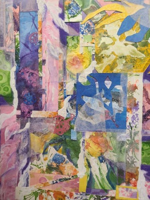 Artwork by local teacher Dana McBee will be exhibited in the Center for the Arts cafe gallery through May 1.