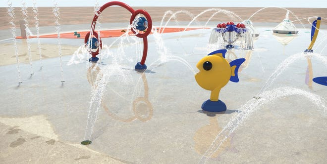 A new splash pad is being installed at the Gahanna Swimming Pool, 148 Parkland Drive. The water feature is expected to be ready for the 2022 pool season, with construction occurring throughout 2021.