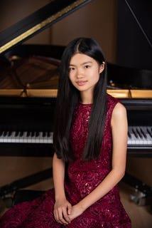 Pianist Natalie Zhang
