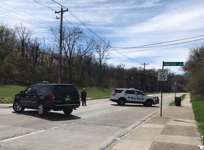 Cincinnati police closed Vine Street at Glen Este Avenue for about three hours due to the car crash involving two pedestrians.