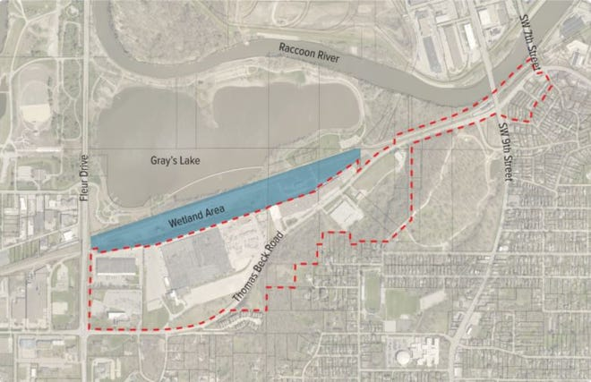 The city is asking for the public's feedback on what could come to the area south of Gray's Lake.