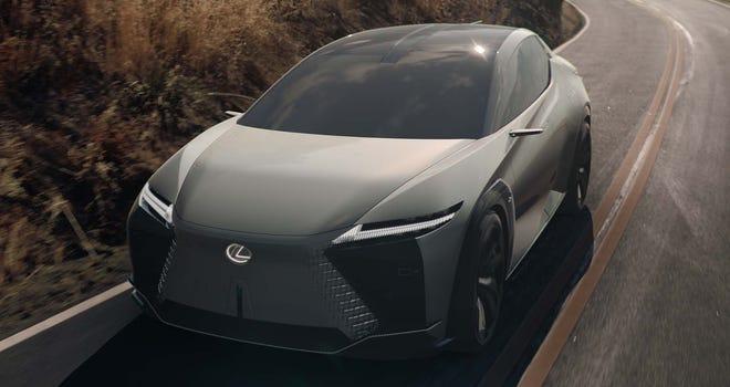 Lexus LF-Z electric concept