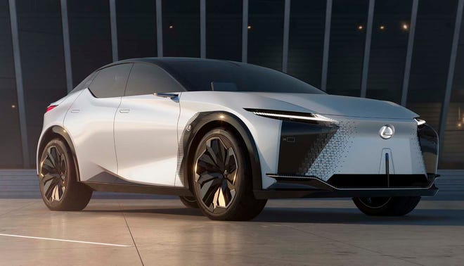 The Lexus LF-Z concept is the brand's first fully electrified model.