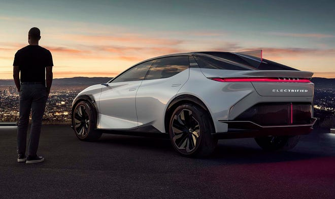 The Lexus LF-Z concept brings Toyota's luxury brand closer to offering a vehicle powered solely by battery technology.
