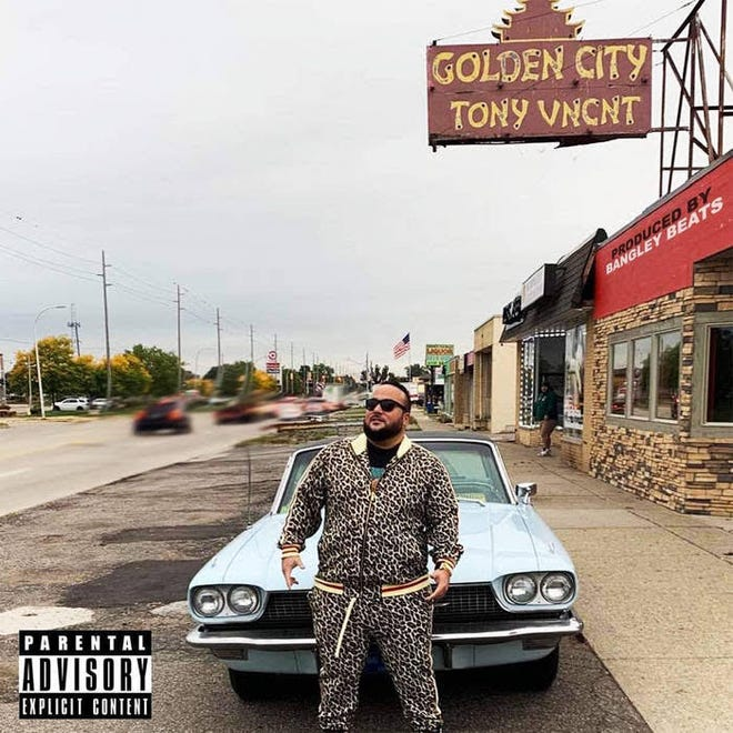 """Detroit rapper Tony Vincent released """"Golden City"""" earlier this year."""