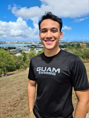 Jagger Stephens, one of Guam's top swimmers for more than a decade, hopes to represent Guam at the Tokyo 2021 Olympics in July.
