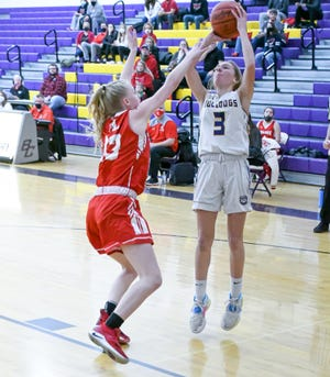 Bloom-Carroll freshman Emily Bratton was named Division II third team All-Ohio on Tuesday by the Ohio Prep Sportswriters Association.