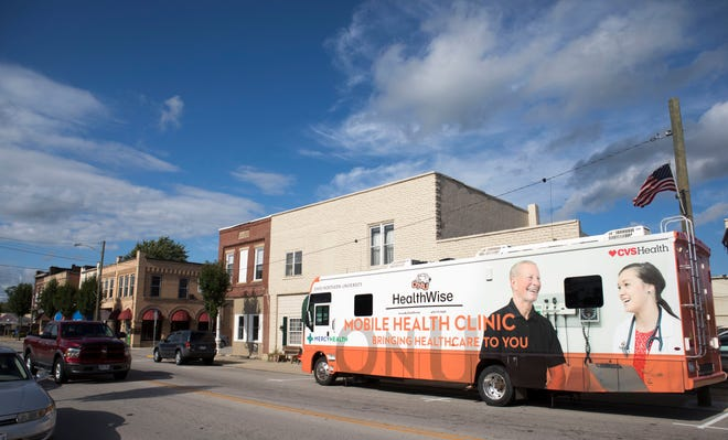The Ohio Northern University HealthWise Mobile Clinic will visit Marion and five other counties over the next two months as a state-sponsored mass COVID-19 vaccination site.