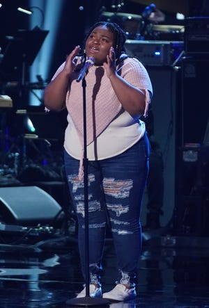 "Ronda Felton, a Milwaukee native living in Phoenix, sang Stevie Wonder's ""All In Love Is Fair"" during the Showstopper round on ""American Idol"" on March 29, 2021."