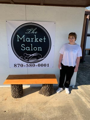 Addisen Persenaire recently opened The Market Salon, located  at 1160 Hwy 62 SW between Annette's Flowers and Bomber Boulevard. Persenaire is a graduate of Paul Mitchell The School Fayetteville and her business offers haircuts, colors, face waxing, blow dry styles, perms and roller sets. The salon is open 9 a.m.-5 p.m. Monday-Friday or by appointment. The salon's phone number is (870) 580-0001. The Market Salon is active on Facebook and can be found online at https://market-salon.business.site/