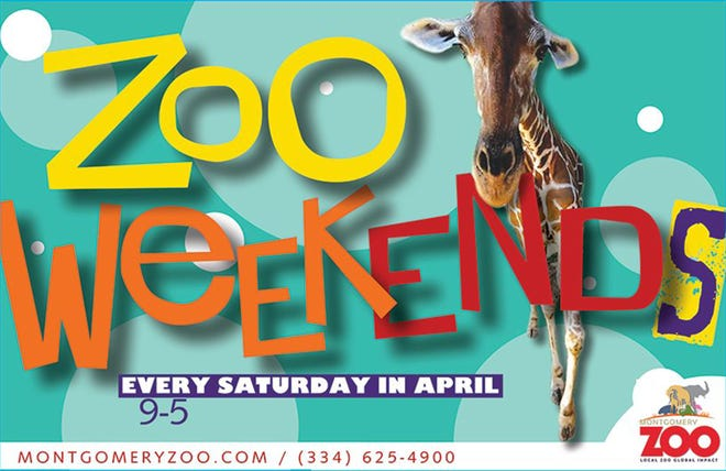 Due to weather concerns, Saturday's final Zoo Weekend of April has been pushed to Sunday.