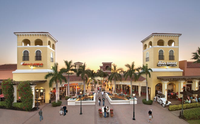 Naples Flatbread and Ford's Garage at Miromar Outlets.