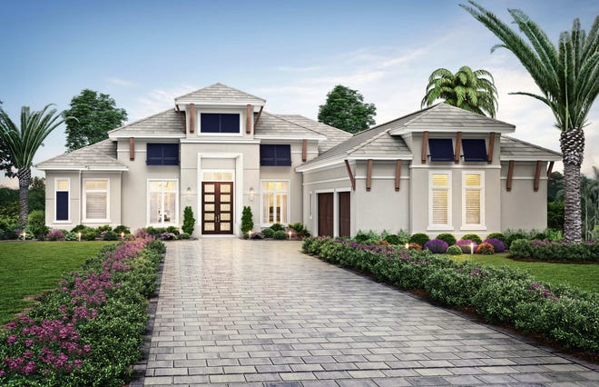 Theory Design announced it has completed the interior in Seagate Development Group's Santorini model at Esplanade Lake Club, a 778-acre resort lifestyle community being developed by Taylor Morrison just east of I-75 in Fort Myers.  The Santorini model is priced at $3,100,000 furnished.