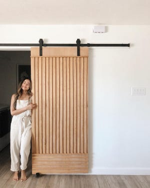 Jessica Bui is known as @the.orange.home to her 125,000 followers, with whom she shares her latest home updates and décor tips.