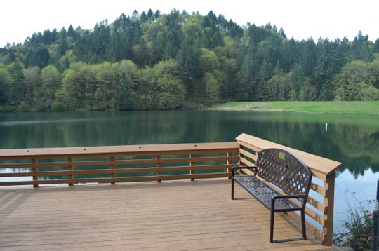 Silverton Reservoir, which has a parking fee, is a great fishing getaway close to Salem.