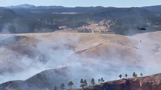 Mount Rushmore is closed, crews progressing