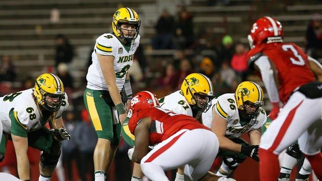 Zeb Noland has thrown four touchdown passes and six interceptions as North Dakota State's quarterback