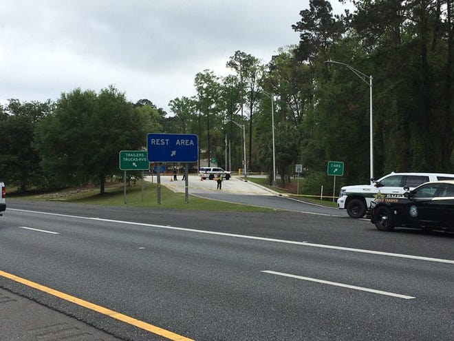 The Leon County Sheriff's Office is investigating a death at the eastbound Interstate 10 rest area at mile marker 196.