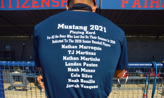The Tulare Western High School baseball team is dedicating this season to last year's senior class who had their careers cut short because of the COVID-19 pandemic.
