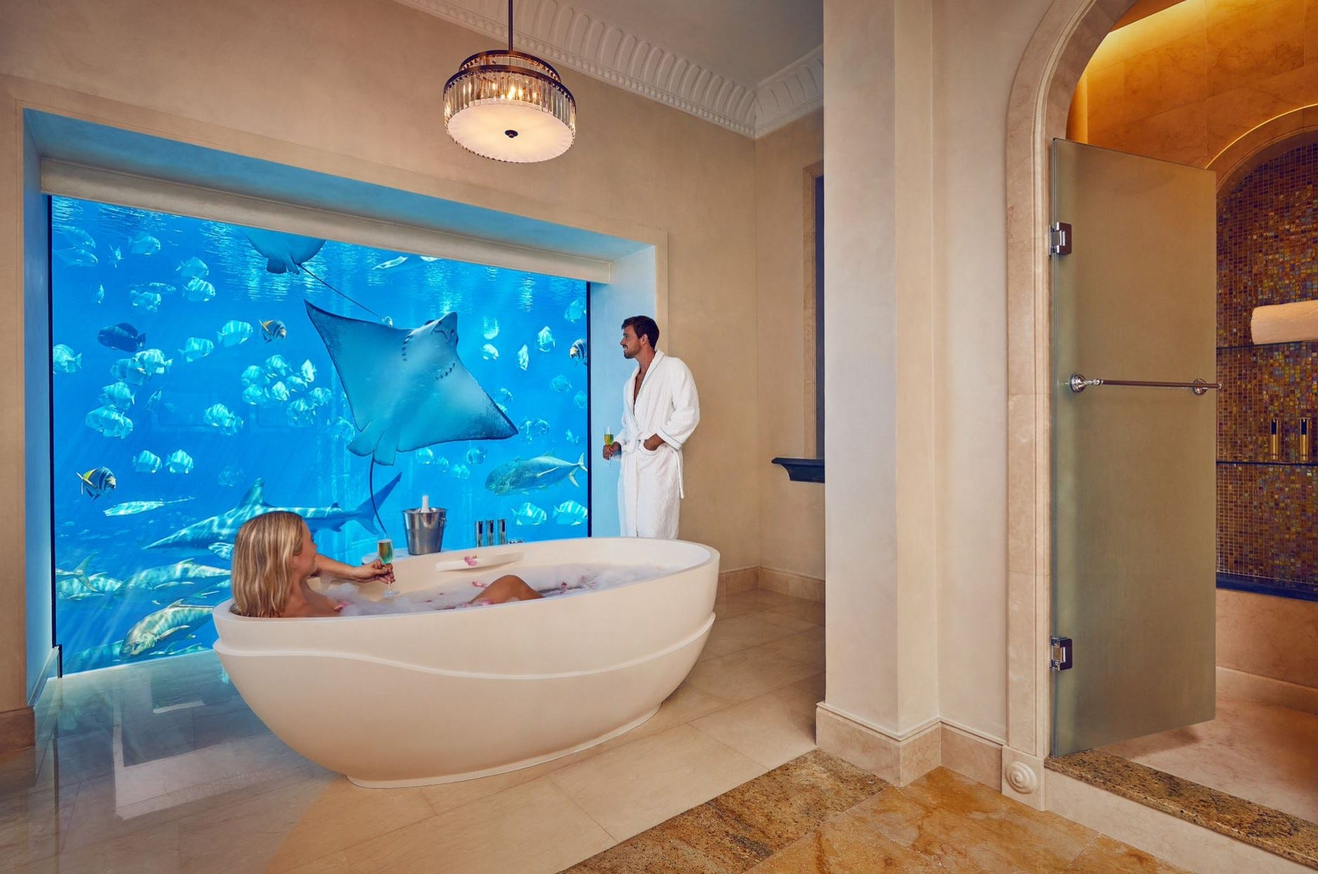 25 epic hotel bathrooms from around the world