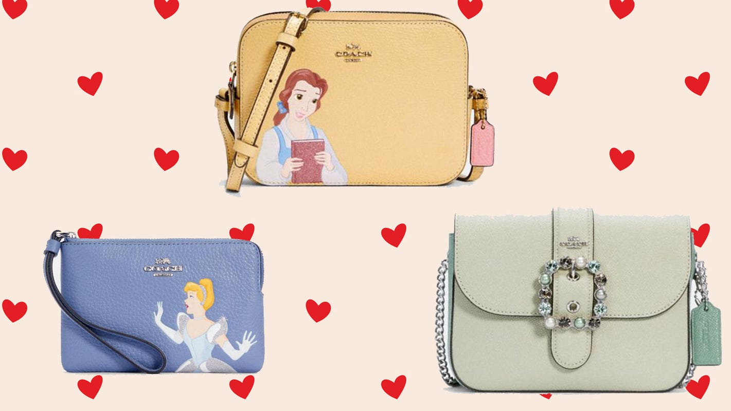 Disney x Coach bags are 50% off right now—but not for long