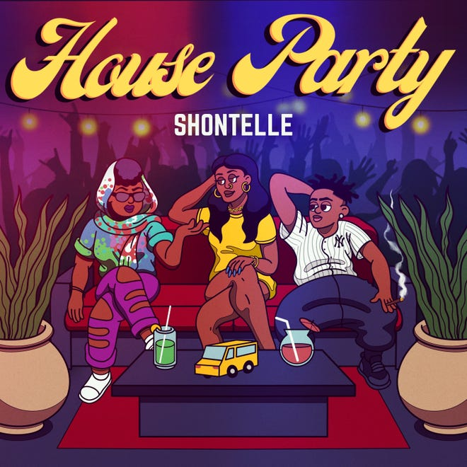 "Winners of an online auction will get their name mentioned in the upcoming single ""House Party,"" from Barbadian singer Shontelle. Other auction winners get their likenesses inserted into the cover art, which the singer will autograph."