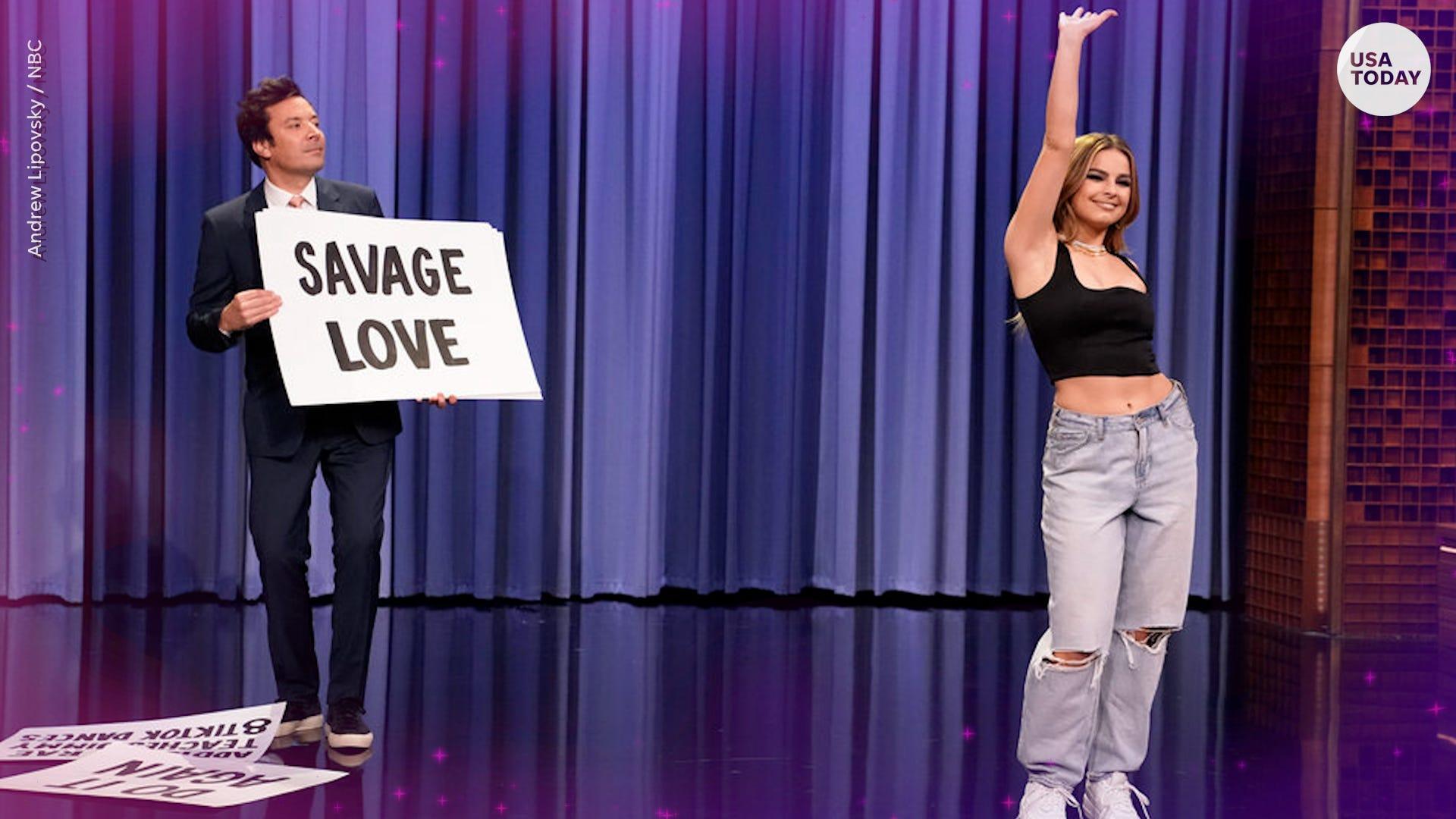 TikTok: Addison Rae's Jimmy Fallon clip drew backlash, Fallon responds