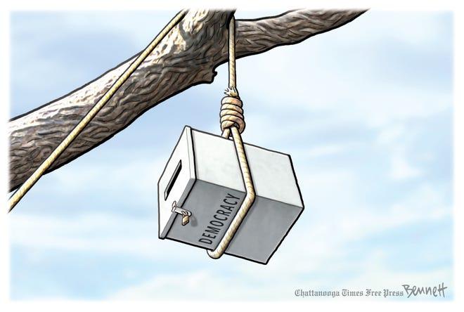 Editorial cartoon: April 1, 2021