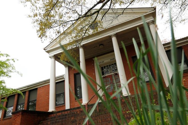 The Minor Street Building at the West Broad Street school will be preserved, but two buildings will be torn down to build an early learning center.